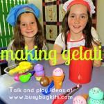 making gelati
