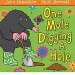one mole dig hole